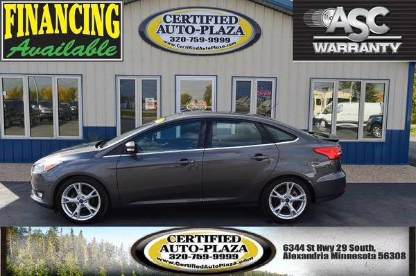2015 Ford Focus Titanium - cars & trucks - by dealer - vehicle... for sale in Alexandria, MN