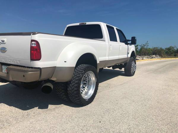 SUPER CLEAN LIFTED KING RANCH F350 DUALLY 6.7 POWERSTROKE DIESEL for sale in Boca Raton, FL – photo 4