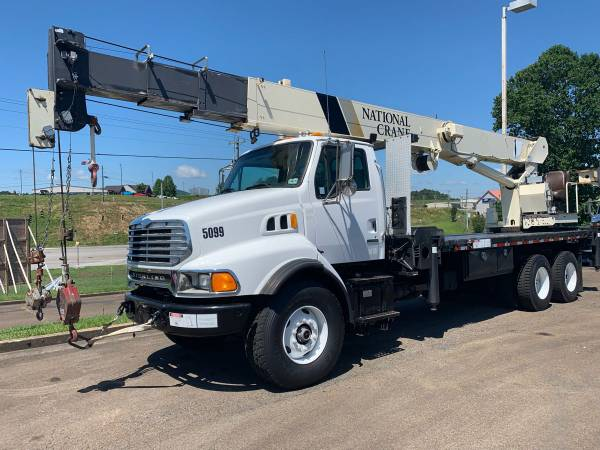 2002 Sterling National 1300 Series 30 Ton Crane Truck Boom Truck-... for sale in Jasper, MS – photo 2