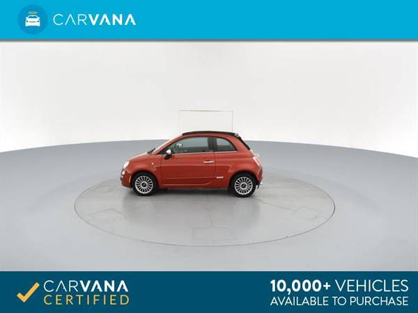 2012 FIAT 500 500C Lounge Convertible 2D Convertible RED - FINANCE for sale in Macon, GA – photo 7